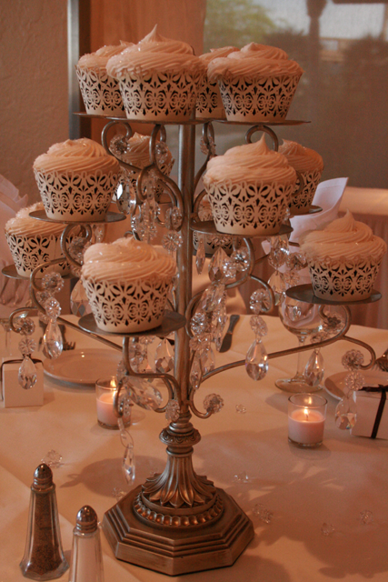 11 Silver Cupcake Stand